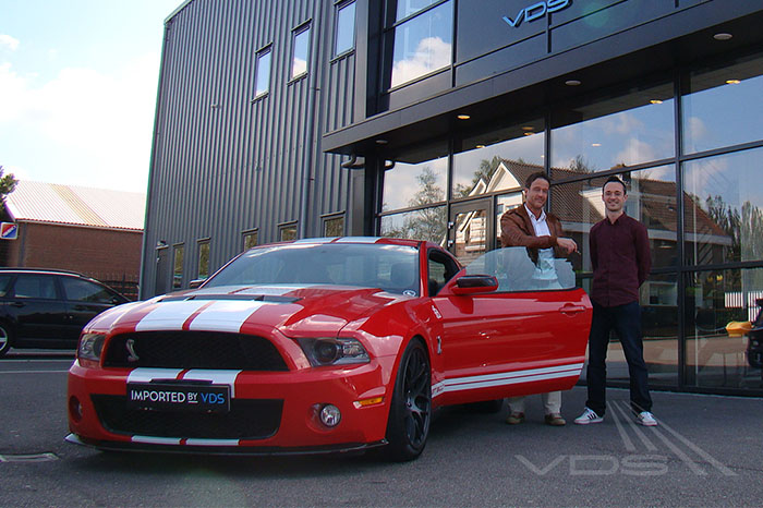 Mustand Shelby GT500 import